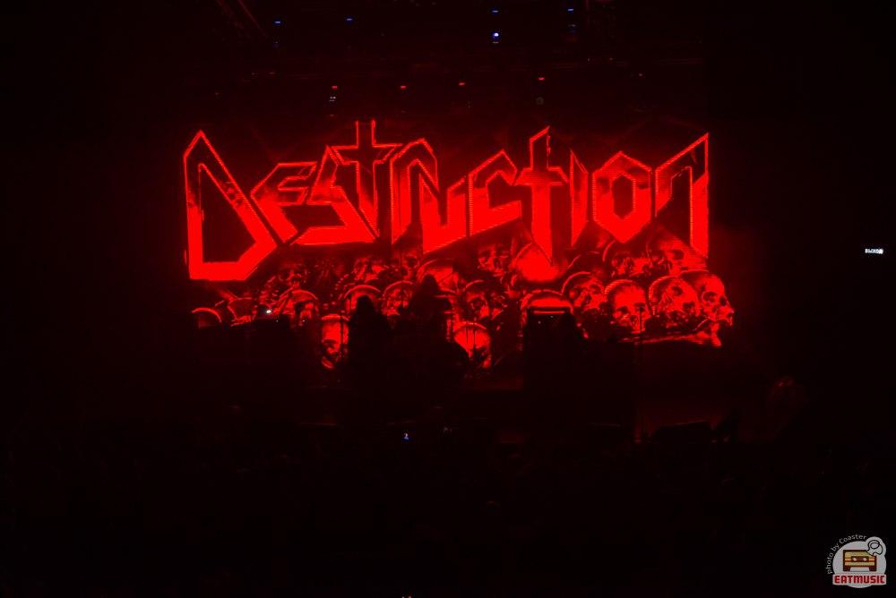 Концерт Destruction