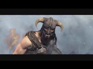 Skyrim-Новый драконий крик