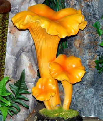 Фигурка гриба для сада