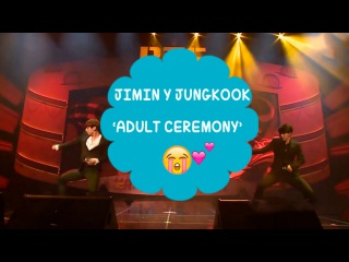 Jimin and Jungkook: 'Adult Ceremony' | HAPPY BTS DAY PARTY