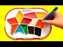 AquaBeads Rainbow Set Aguabeads Beginner's Studio Playset DIY Cool Shapes with Glitter Beads