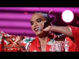 Seann Miley Moore is dreamin of your votes  Live Week 2  The X Factor 2015