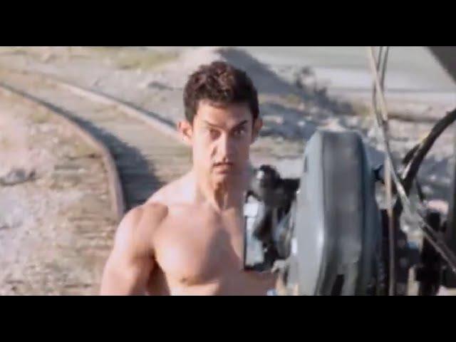 ПИКЕЙ 2014 Making of Aamir Khan's Nude Scene | PK Behind The Scenes