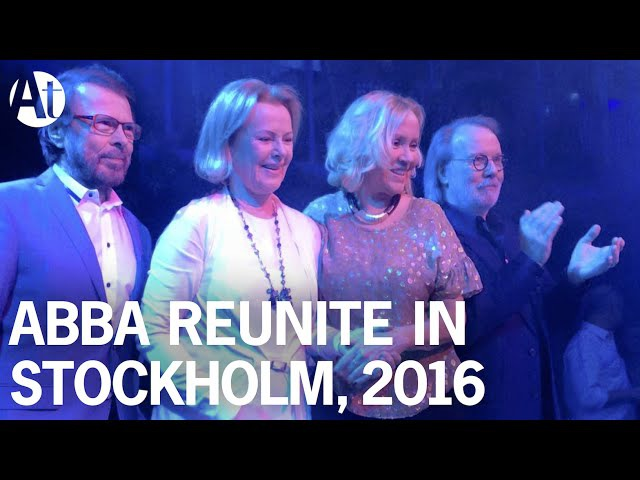ABBA REUNION 2016! Full interview at Mamma Mia! The Party, Stockholm (Subtitles) Agnetha Frida