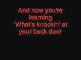 Knockin At Your Back Door - Deep Purple (With lyrics)