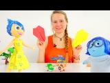 Бумажные самолеты для Печальки и Радости! Игрушки из мультфильма Головоломка