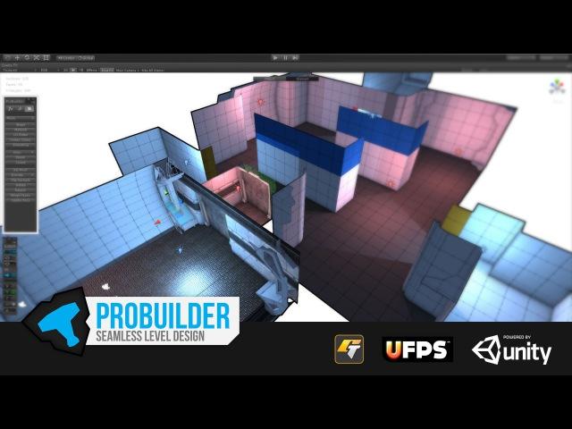 ProBuilder: Seamless Level Design For Unity