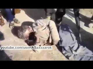 Сирия.Захват в плен снайпера террористов