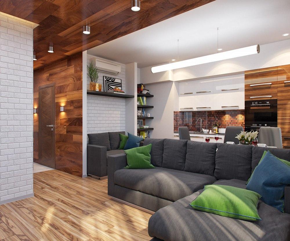 Проект квартиры 29,5 м.