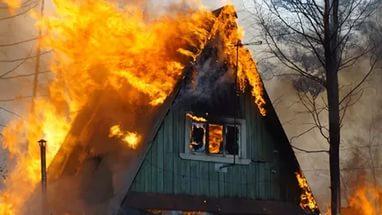 Феодосийский пионерлагерь «Солнечный» горел ночью