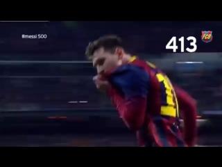 #Messi500