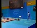 24.08.2004. Летние Олимпийские игры в Афинах. Тяжелая атлетика. Мужчины. Категория до 105 кг