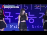 홍진영의 과하지 않은 섹시함 안녕하세요 라이브 무대