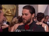 Джаред Лето - Интервью Оскар 2016 (русские субтитры)