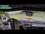Honda CRX vs EVO9. Nurburgring. 827.29