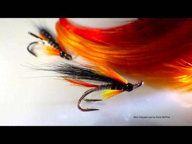 Tying the Minx Cascade (Salmon Fly) by Davie McPhail