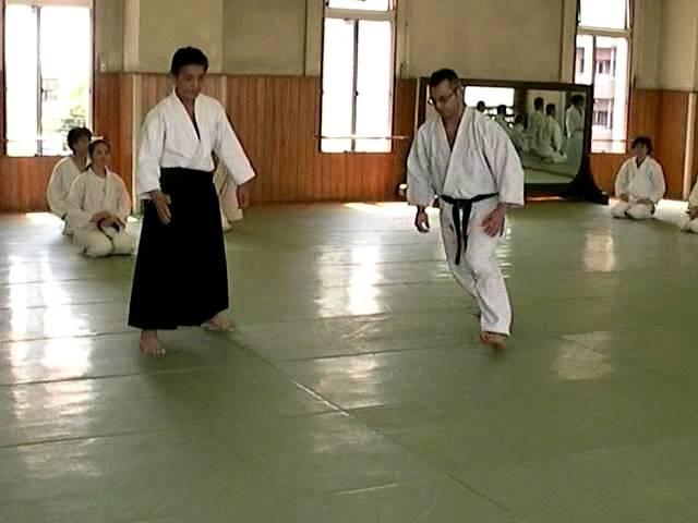 Sonoda Sensei (8 dan), kote gaeshi, uke Podoynikov A.
