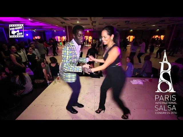 Mouaze Konaté Griselle Ponce Social Dancing cha cha cha @ PISC 2016