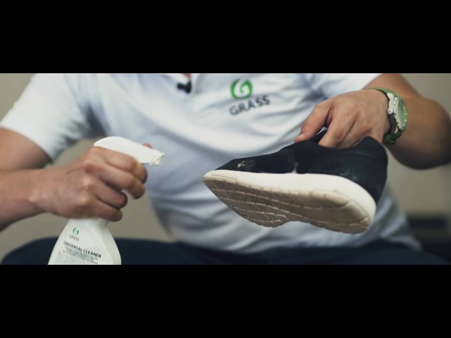 Как отмыть кроссовки - UNIVERSAL CLEANER.