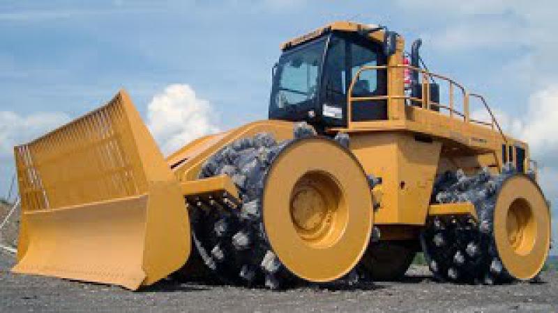 Машины-монстры - Компактор CAT 836G