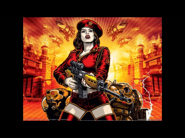 Command Conquer Red Alert 3 Soundtrack Red Rock For Mother Russia