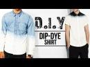 HOW TO: DIP-DYE (OMBRÉ) SHIRT ● D.I.Y TUTORIAL | JAIRWOO