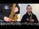 How to play Jingle Bell Rock on Alto Saxophone by Bobby Helms (Easy Version Lesson CHR101)