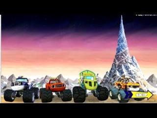 Мультик игра для детей про машинки-Вспыш и чудо машинки Гонка На Вершине Мира.