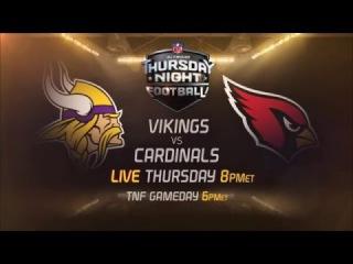 Vikings vs. Cardinals Trailer (Week 14)   NFL