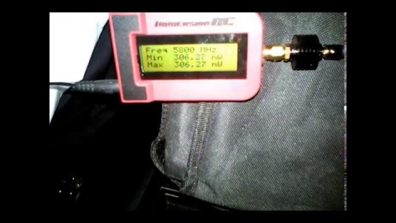 5.8gHZ test transmitter 600mw TS832 BangGood 1