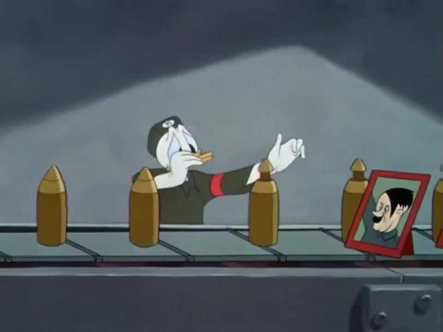 Donald Duck Nazi Der Fuehrer's Face - 1943 [HD]