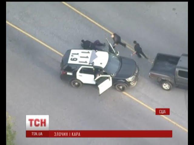 У Каліфорнії під час затримання підозрювана намагалася вкрасти машину поліції