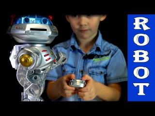 Игрушки для детей. Робот - Танцор и Супер Робот Wiser. Распаковка и обзор