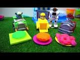 Щенячий Патруль делает пирожное из пластилина Плей До Видео с игрушками
