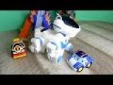 Робокар поли и Робот собака. Видео для детей с игрушками
