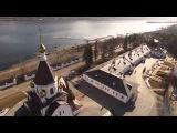 Аэросъемка с квадрокоптера Свято-Успенский мужской монастырь, Красноярск.
