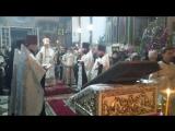 Вечерню совершает в Храме Успения Божьей матери архиепископ Уральский и Актюбинский Владыка Антоний