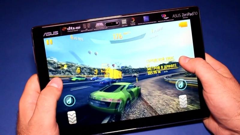 Asus Zenpad Z - обзор планшета с двумя динамиками ( C300 , 10 дюймов)