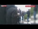 Видео нападения с тортом на Навального (тортинг) 25.02.2016