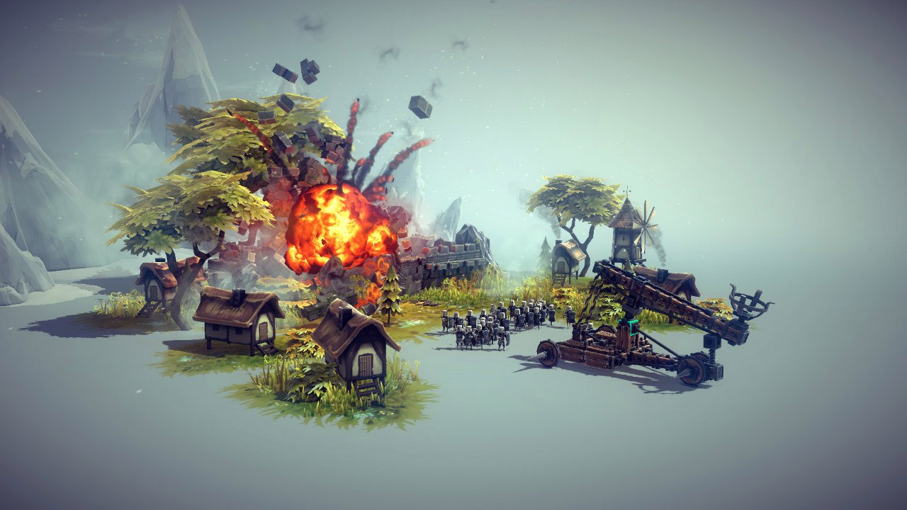 Besiege (2015) PC - Скриншот 2