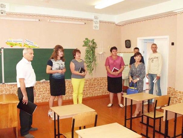 Проведено огляд готовності навчальних закладів району