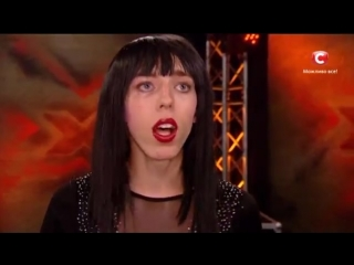 Анастасия Чернова - Be My Valentine - Loboda - Х-Фактор 5 - Киев - 27.09.2014