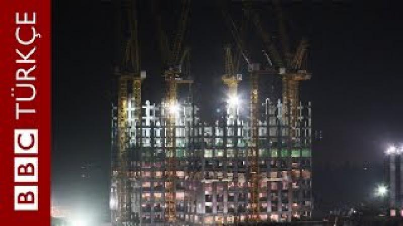 Çinlilerin 19 günde inşa ettiği 204 metrelik gökdelen - BBC TÜRKÇE