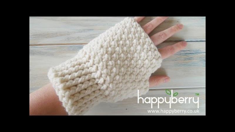 Crochet How To Crochet Fingerless Mitten Gloves