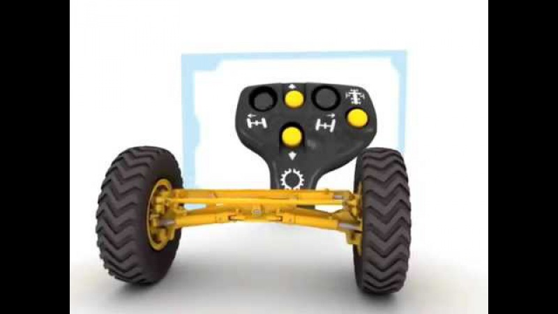 Cat® M Series Motor Graders | Joystick Control Tutorial