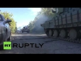 В Донбассе приступили к отводу вооружения калибром менее 100 мм от линии соприкосновения