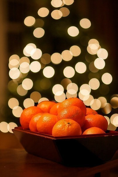Мандарини на новий рік