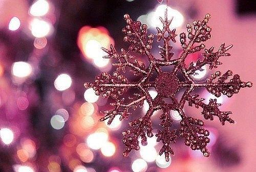 Сніжинка прикраса для нового року