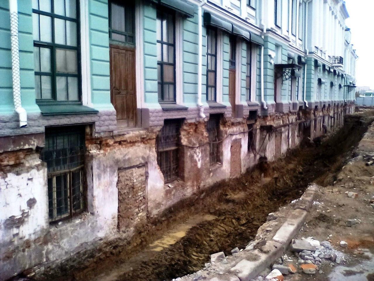 Здания, занесенные грунтом. Часть 6