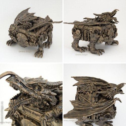 шкатулка дракон (1 фото)